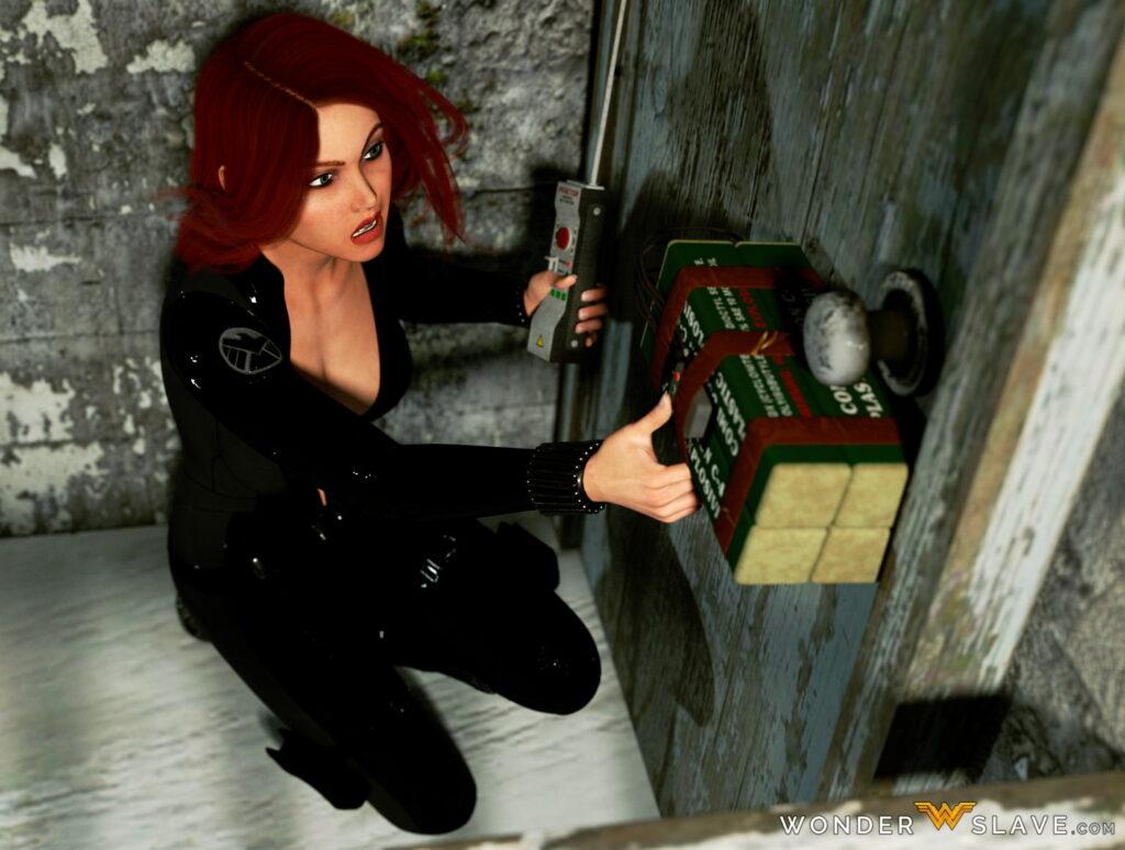 Agents Black Widow - Equipment Sabotage - Wonder Slave trainer game 0.3